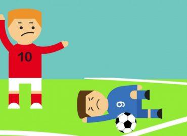 Cómo actuar si tu hijo se lesiona en un partido. Responsabilidad de Entrenador y Club.