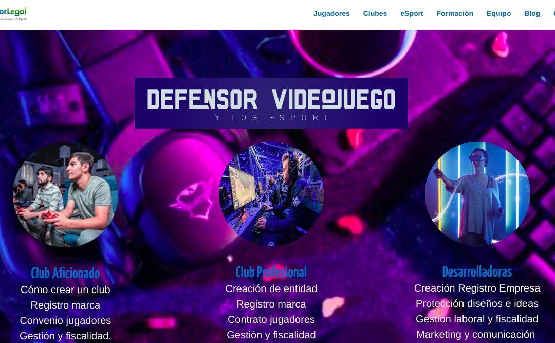 BIENVENIDA ESPORT Y VIDEOJUEGOS A DEPORLEGAL